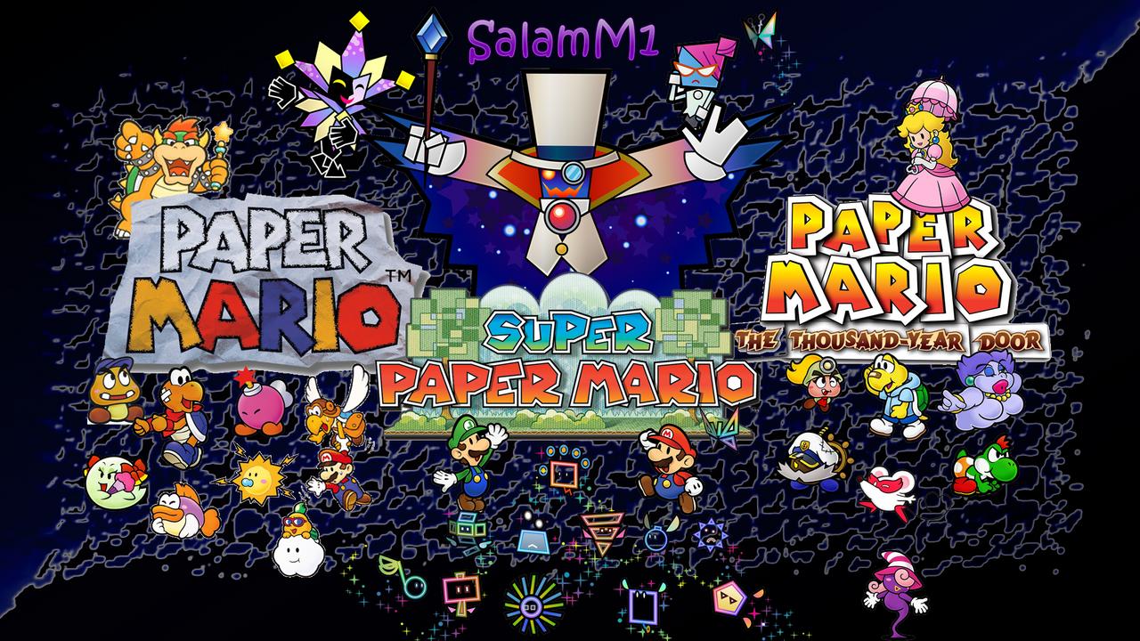 Paper Mario Ultimate Wallpaper By Salamencemaster1 On Deviantart