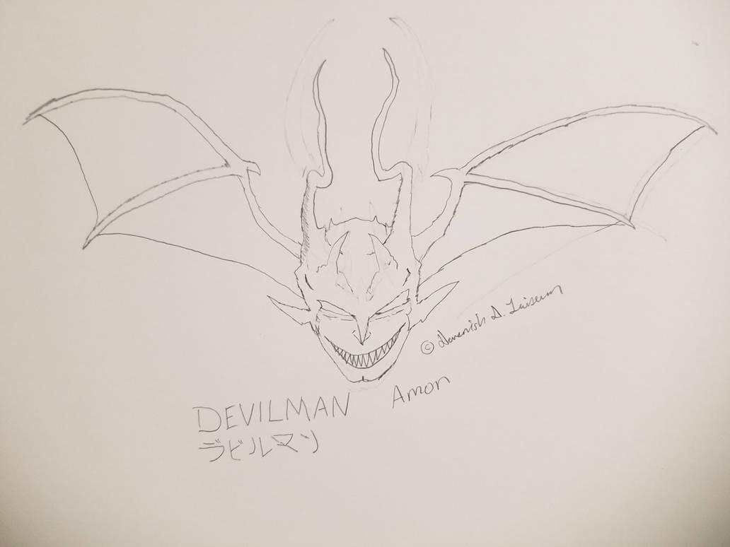 My own take on Devilman/Amon