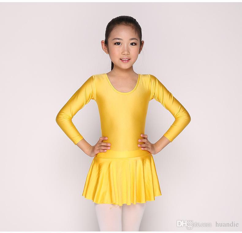 2019-new-cotton-short-sleeve-ballet-leotard