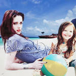 Bella and Nessie on the beach by KseniaCrispi