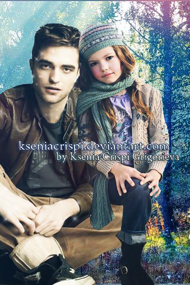 Edward and Renesmee Cullen by KseniaCrispi on DeviantArt  Edward and Rene...