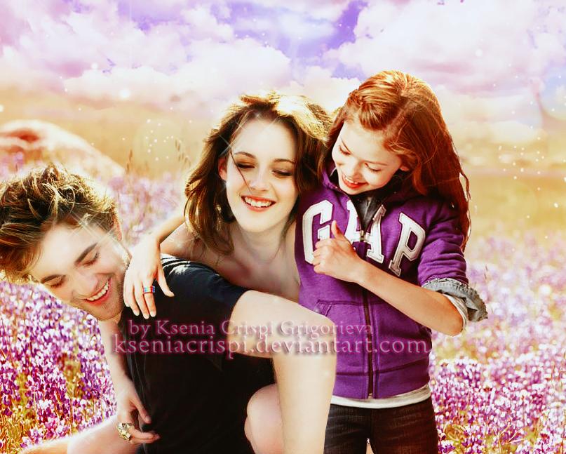 Cullen family by KseniaCrispi on DeviantArt  Cullen family b...