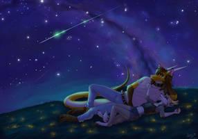 Star sky by Kristall