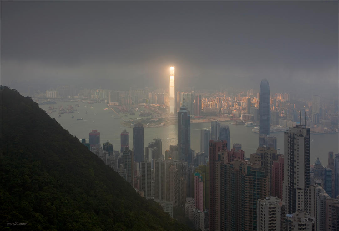 ghostly Hong Kong V by photoport