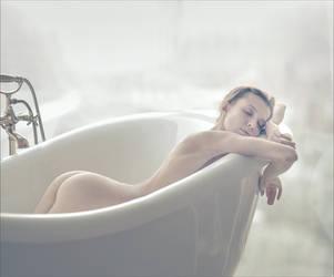Oksana in the bath by photoport