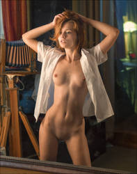 Martha  in the Looking Glass by photoport