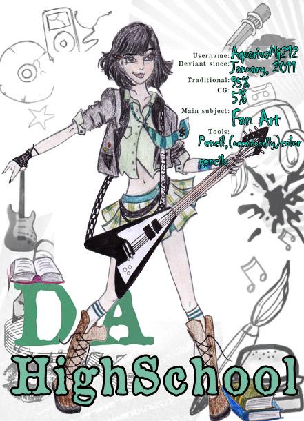 DA high school - AquariusMj212 by AquariusMj212