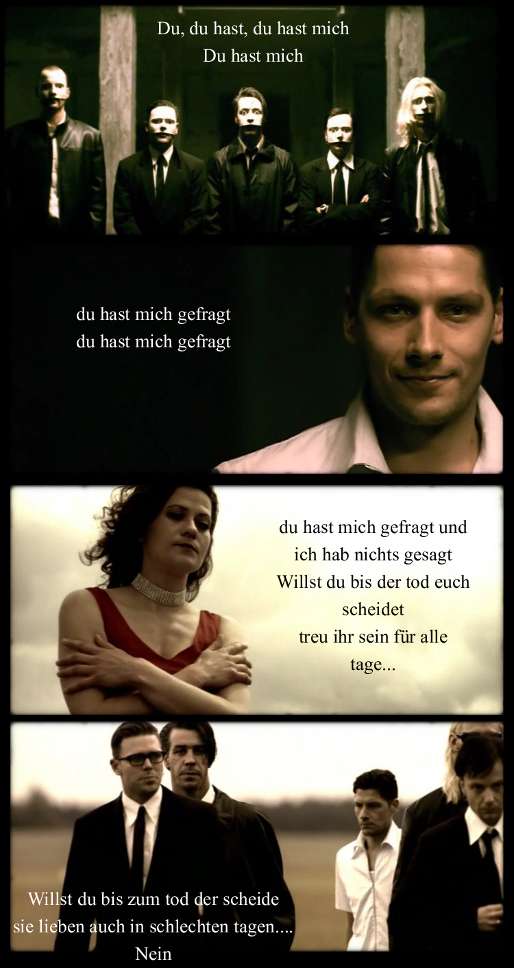 Du Hast Mich and Lyric by NynphetamineOverdose on DeviantArt