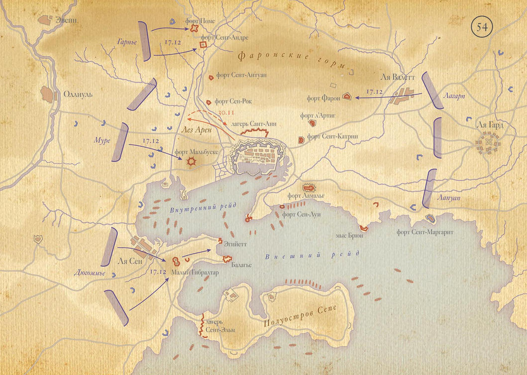 1793 Siege of Toulon by the French army by IlyaKu on DeviantArt