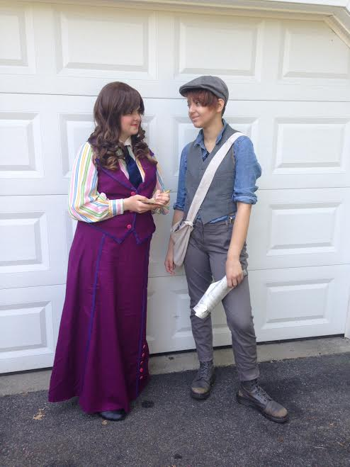 Newsies: Jack and Katherine by nolightss