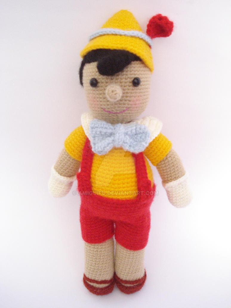 Amigurumi Forum : Pinocho amigurumi by amiguifu on deviantart