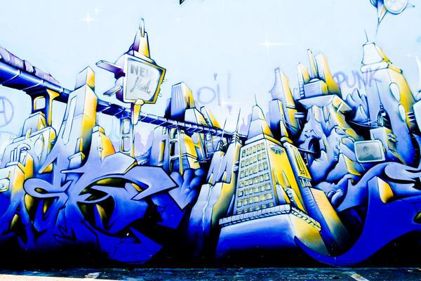 Graffiti 019 by ISOStock