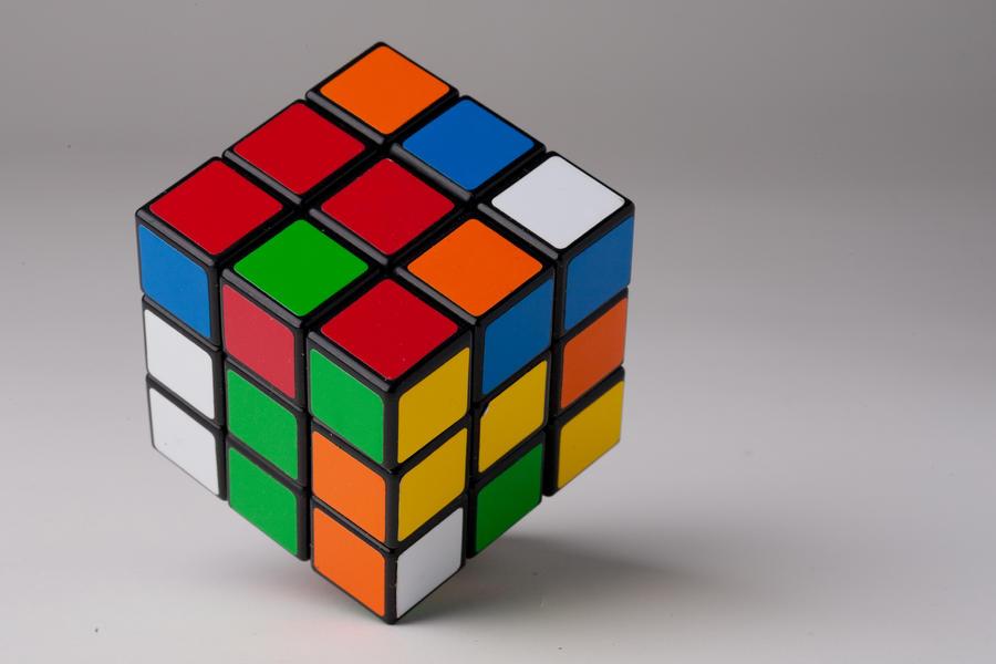 Кубик рубика для фото