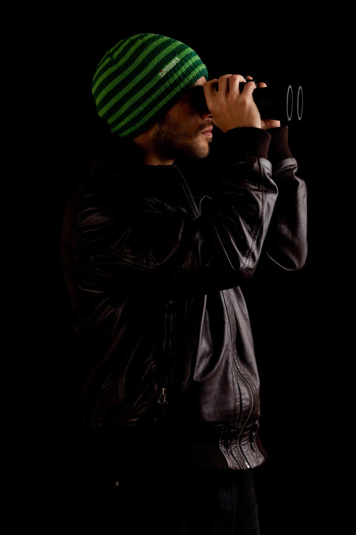Binoculars 009 by ISOStock