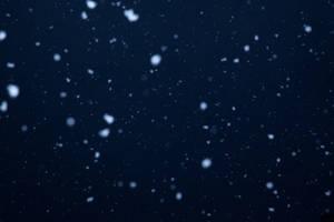Falling snow 001