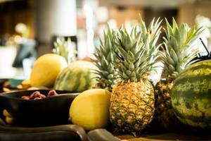 Ananas + fruits 01