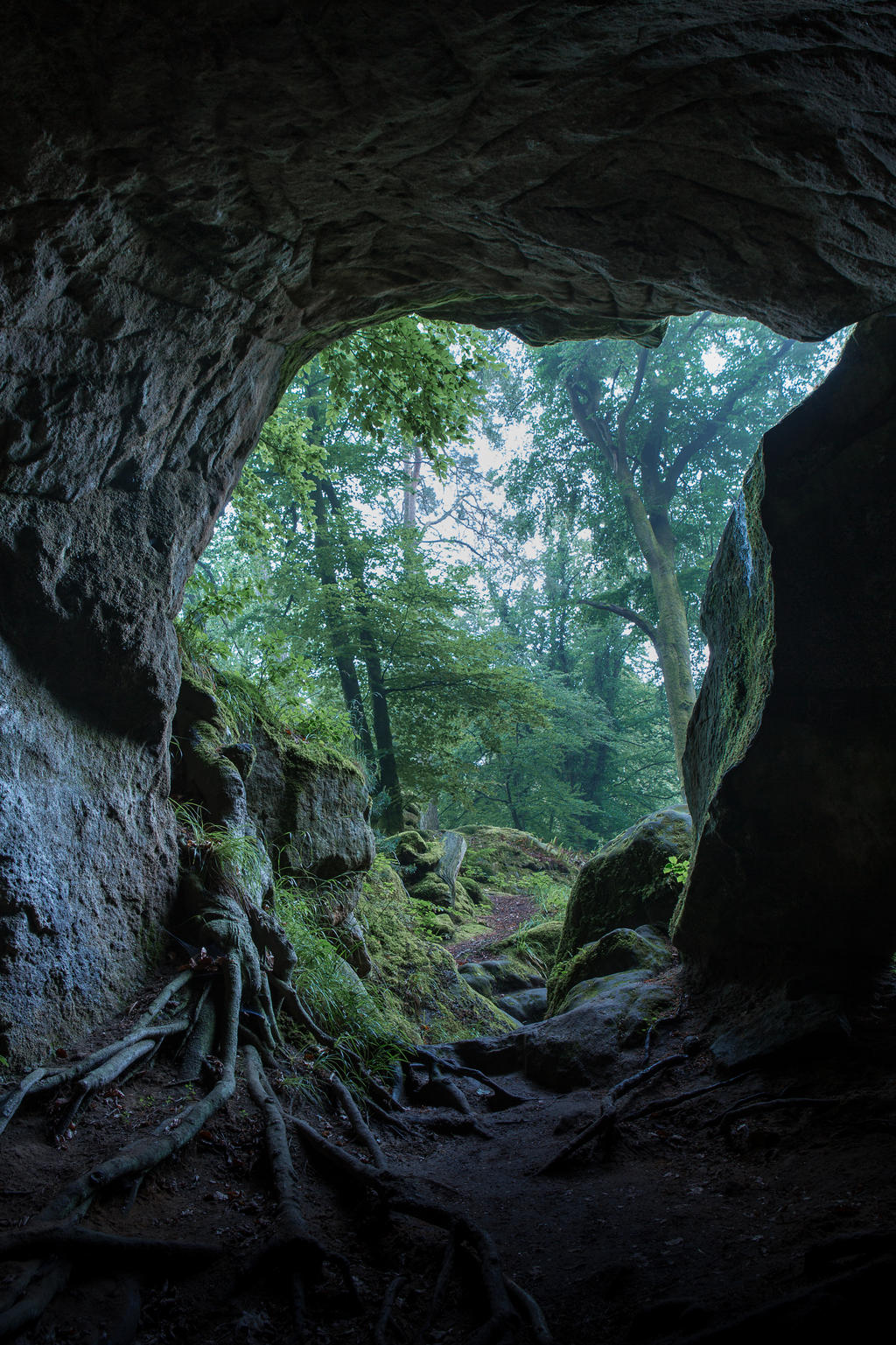 Cave opening 01