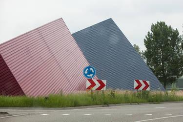 Roundabout pyramids by ISOStock