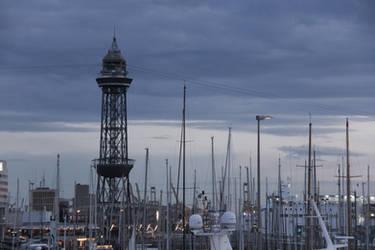 Barcelona boats 061 by ISOStock