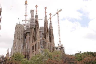 Barcelona Segrada Familia 033 by ISOStock