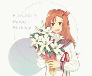 Sayuri's Birthday by farel76