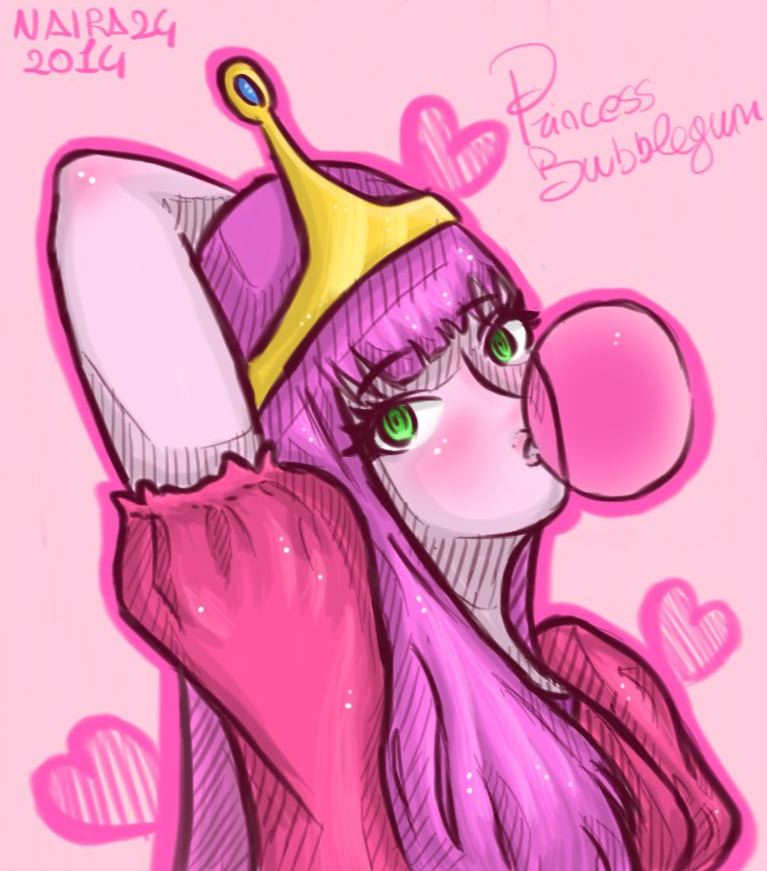 Princess Bubblegum by Naira24