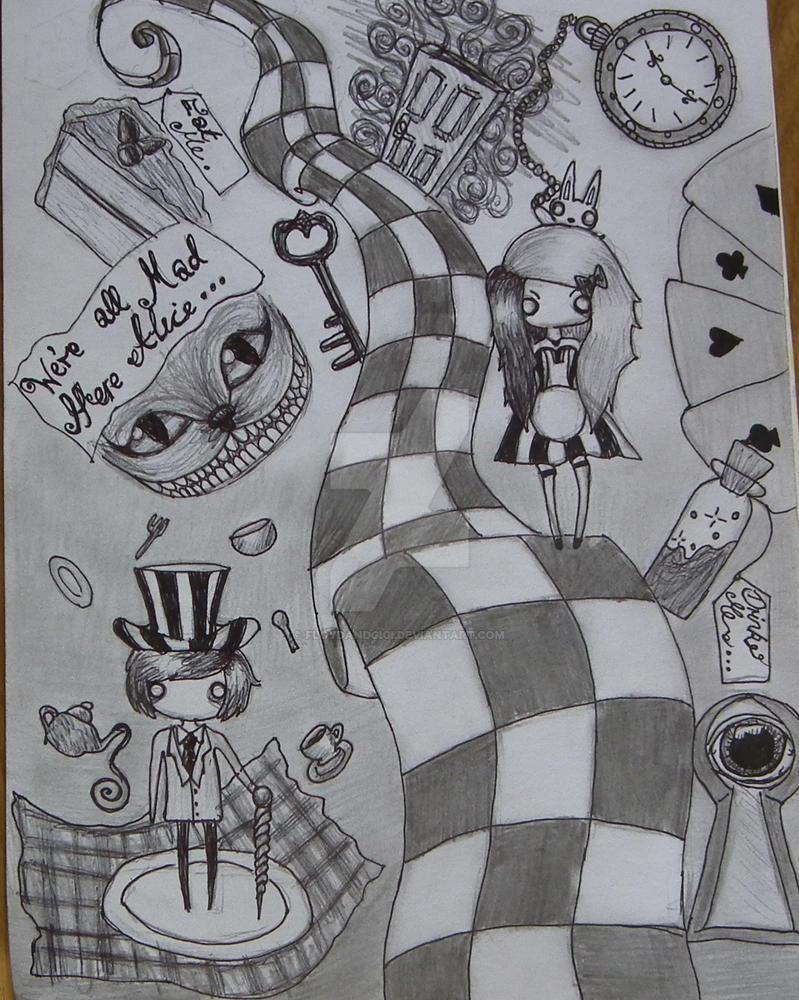 Twisted Alice In Wonderland By Floydandgigi On Deviantart