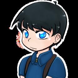 Bright eyed boy by ShoatsuChai