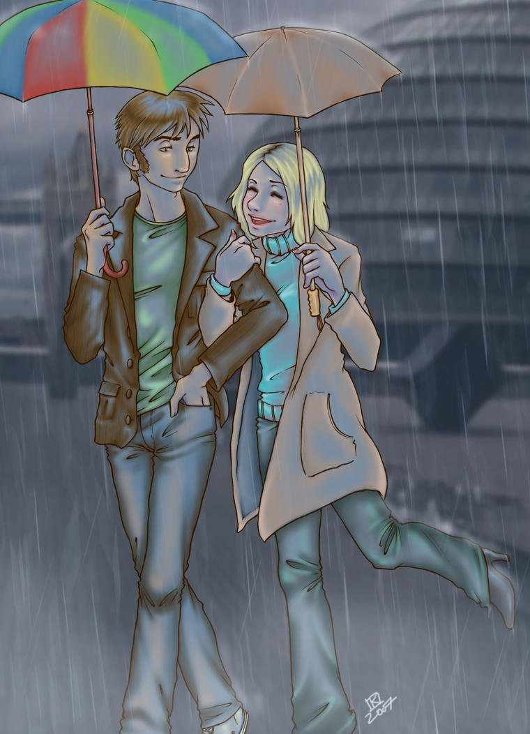 Laughter in the Rain by swankkat