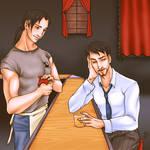 Old Friends - For Jesidres by swankkat