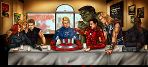 The Avengers' Last Supper