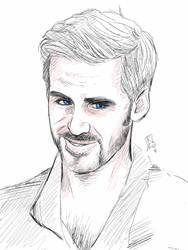 Killian Jones sketch by swankkat