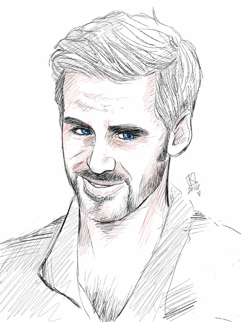 Killian Jones sketch by swankkat