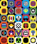 OC NetNavi Icons by DreamVirusOmega