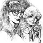 Mary Ann VS Ginger 80's Version
