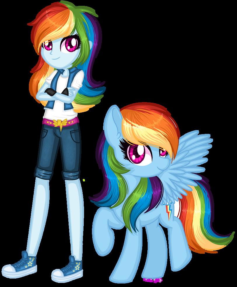 Rainbooows - Rainbow Dash TF by Luxianne on DeviantArt