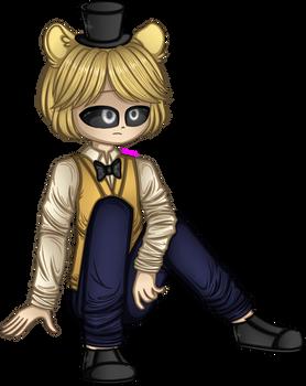 Golden Freddy ( Human Version )