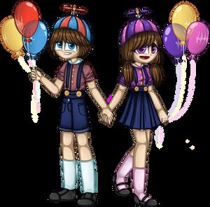 BalloonBoy and BalloonGirl ( Human Version )