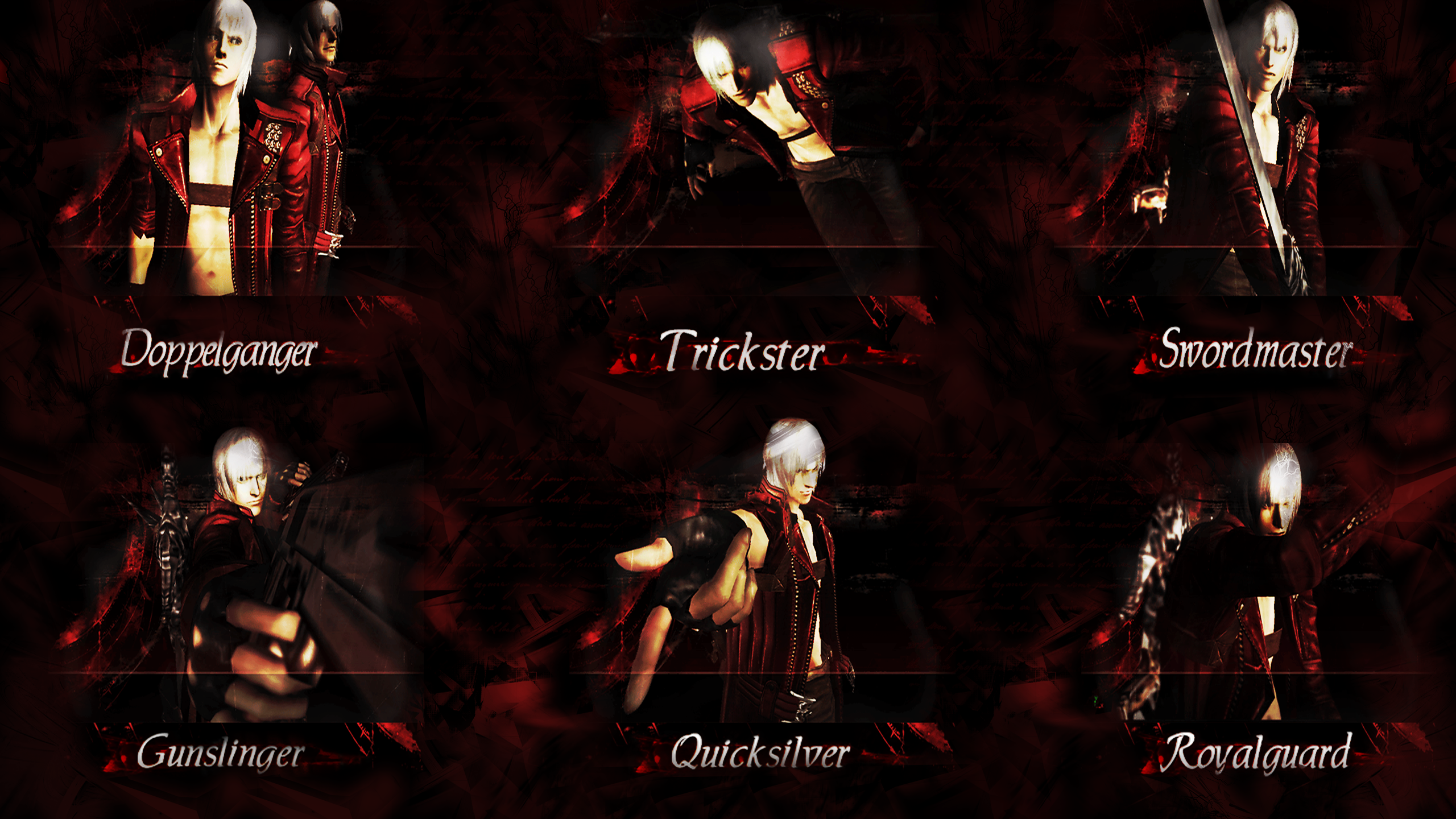 Devil May Cry 3 Se Style Wallpaper Version 2 By Elvin