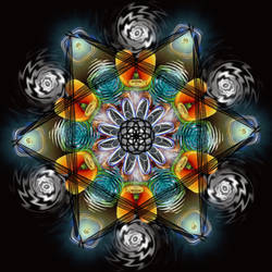 Mandala 2 by Queen-Of-Fables