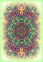 FRACTAL ELVES KALIDOSCOPE by Queen-Of-Fables