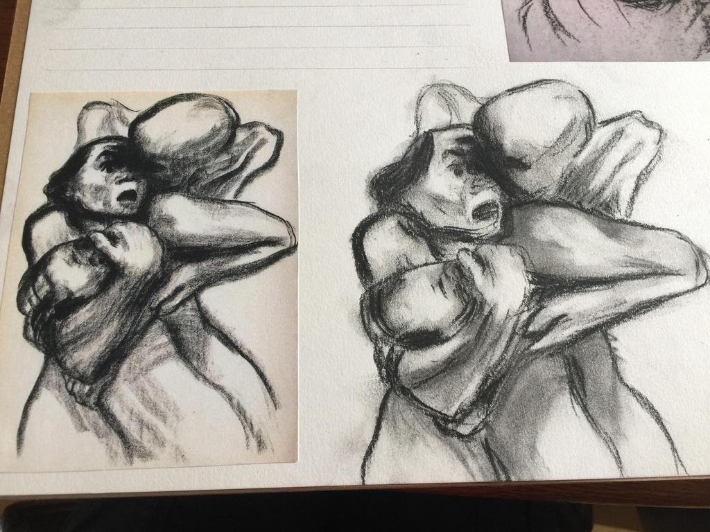 Kathe Kollwitz Study by hrhowling