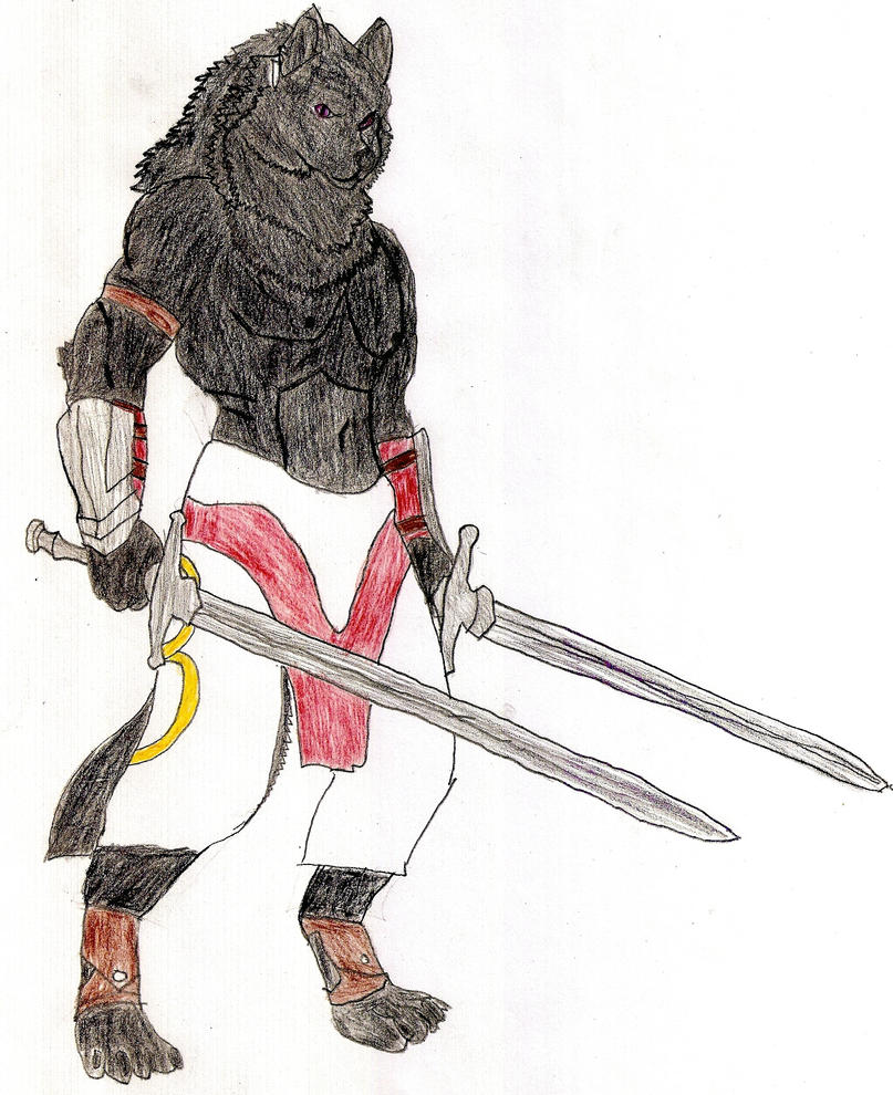 Tomoya The Werewolf Warrior By KevinWolf1990 On DeviantArt