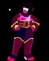 Garnet as Impa by QueezleJones