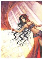 Oriental dancer by lavra