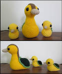 Turtle Duck Family