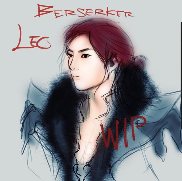Leo wip by glassfreaks