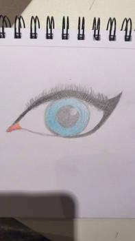 I coloured the Eye