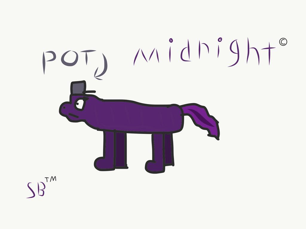 Midnight OC by Salty-boi