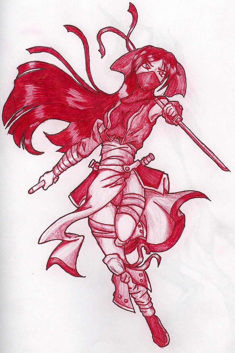 Ninja Lady by Karkahn
